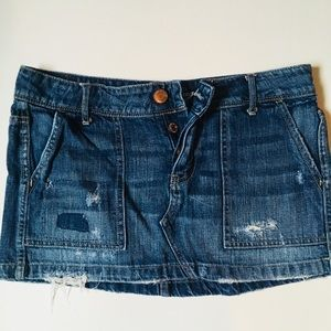 American Eagle Outfitters denim skirt, size 4